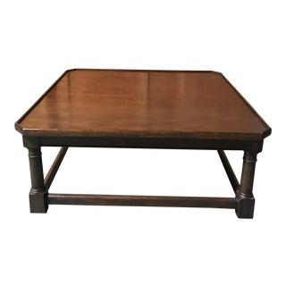 Custom Wood Coffee Table