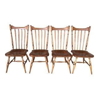 Cushman Colonial Creations Rock Maple Side Chairs - Set of 4