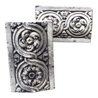 Antique Cast Stone Architectural Elements- A Pair