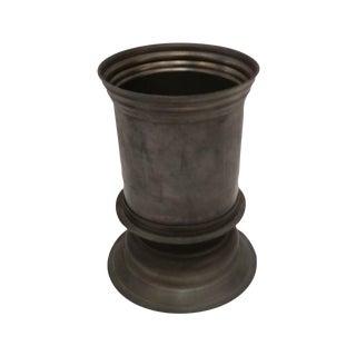 English Vintage Pewter Vase