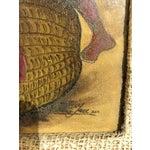 Image of Mid-Century Haitian Oil Painting