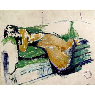 Reclining Study by Franklin White