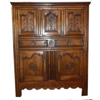 19th Century Ornately Carved Italian Cabinet