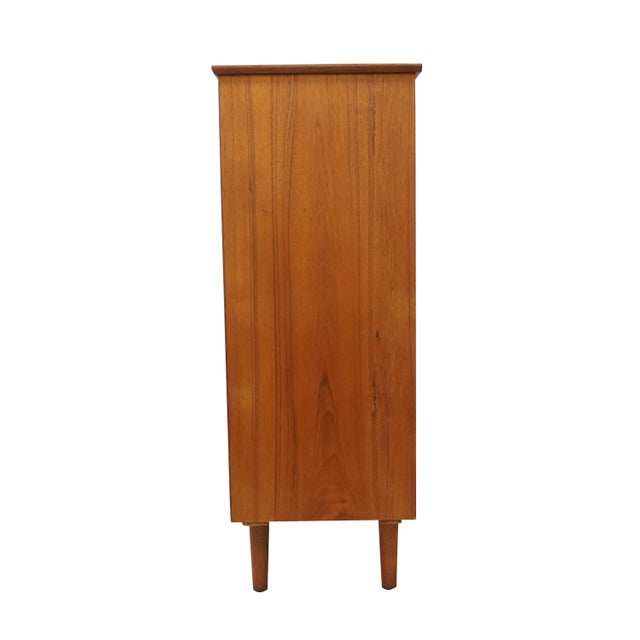 Image of Danish Modern Teak Armoire