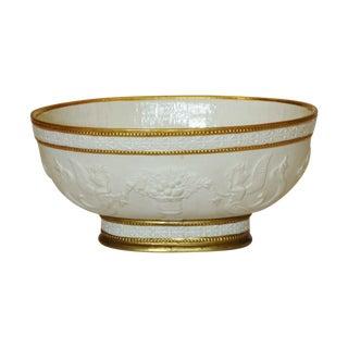 Vintage Mottahedeh Jasperware Bowl, Italy