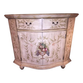 Painted French Cabinet in a Shabby Chic Finish
