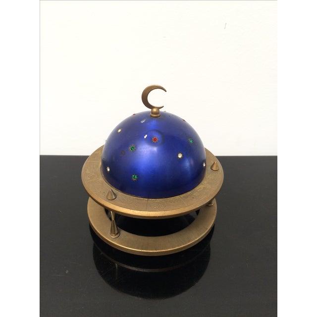 Blue Zodiac Globe Pop-Up Cigarette Holder - Image 2 of 8
