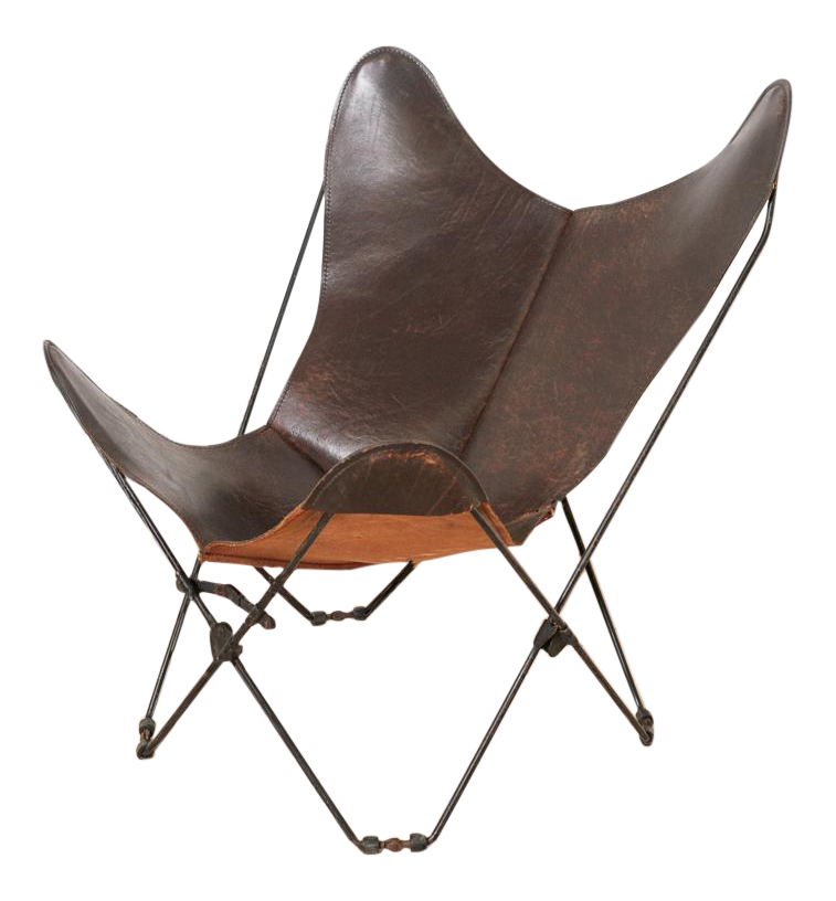 Circa 1950 Mid Century Butterfly Chair