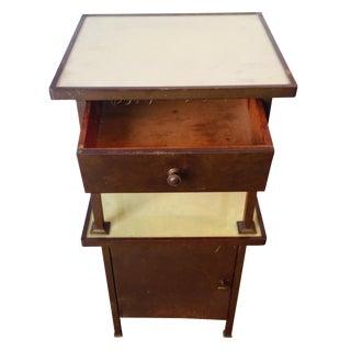 Vintage Brass 2 Tiered Cabinet