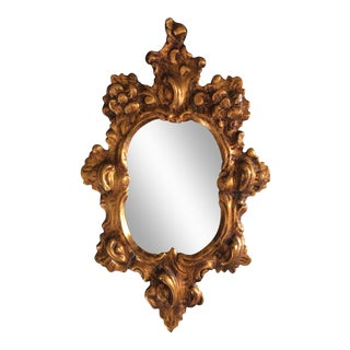 Antique Venetian Gilt Mirror
