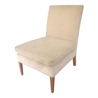 Jansen Style Petite Boudoir Slipper Chair