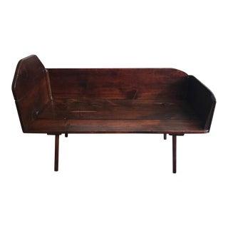 Vintage Hand Carved Solid Wood Center Table
