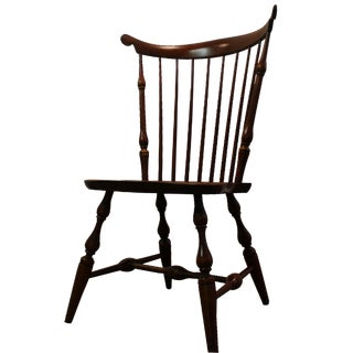 Nichols & Stone Cherry Fan Back Windsor Side Chair