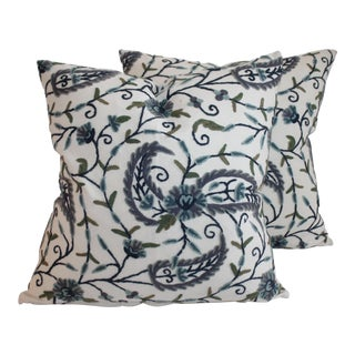 Crewelwork Pillows