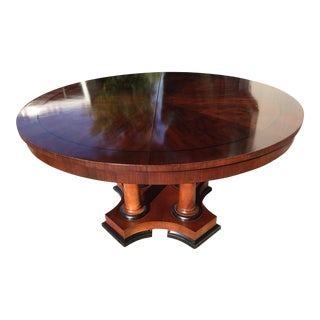 Baker Furniture Round Dining Table