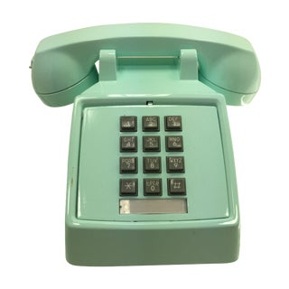 Professionally Painted Pale Turquoise Phone