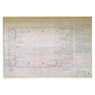 NYC Judson Church Blueprint