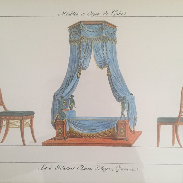 Chelsea House French Framed Lithographs - A Pair - Image 7 of 11