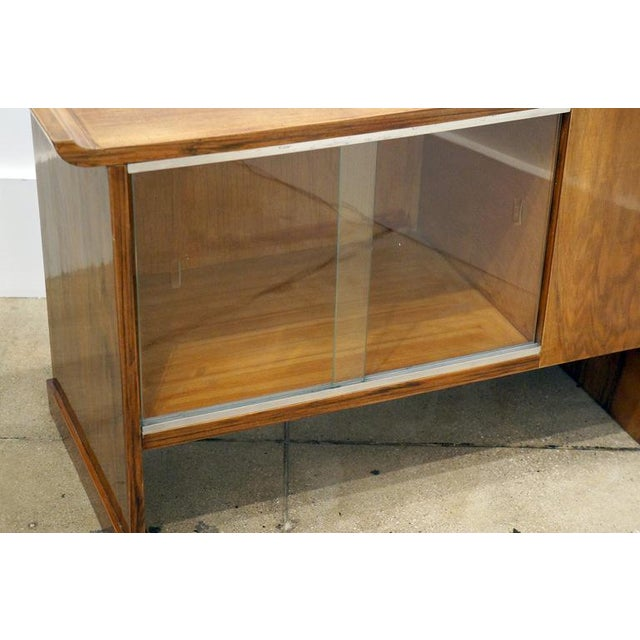 Image of Art Deco Walnut Cabinet