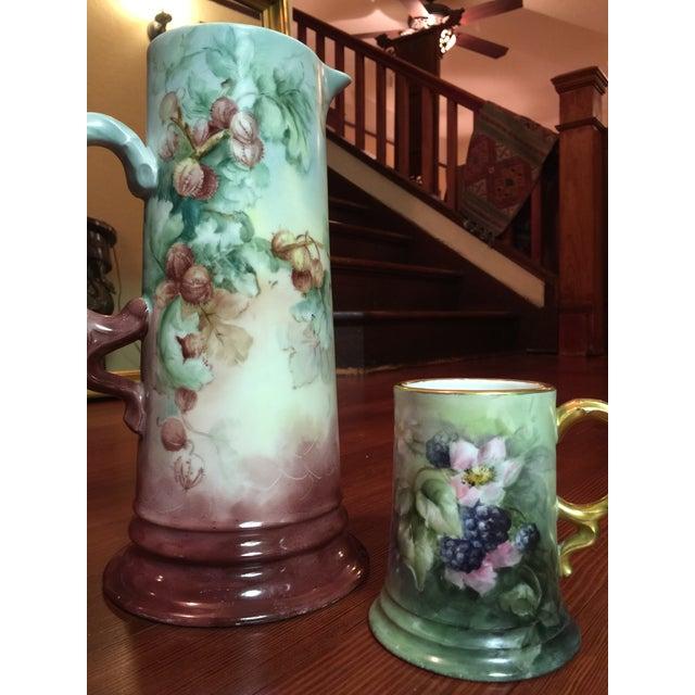2 Piece Antique Rosenthal Bavaria Porcelain Set - Image 3 of 8
