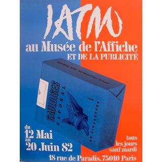 'Gauloises Cigarettes, Musée de l'Affiche Paris' Poster