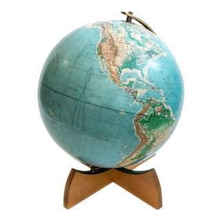 Denoyer-Geppert Globe, Cartocraft Chicago, Il, 1962