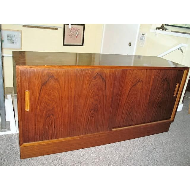 Circa 1970s Danish Rosewood Console - Image 3 of 5