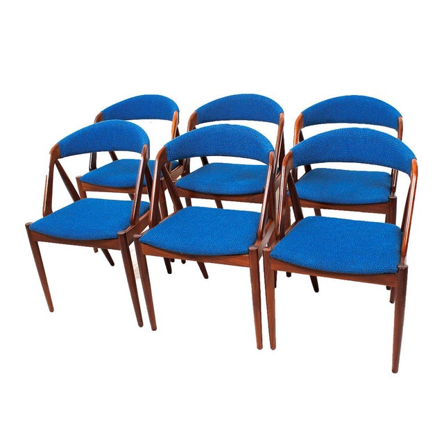 Kai Kristiansen Chairs - Set of 6 - Image 6 of 6