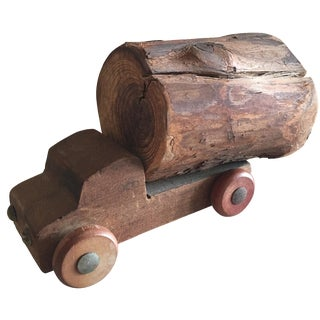Vintage Heirloom Timber Truck