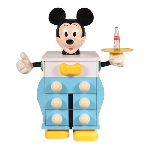 Mickey Mouse Cabinet by Pierre Colleu for Starform, France, circa 1980 - Image 1 of 9