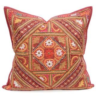 Lotus Mandala Jaislmer Pillow