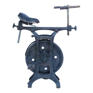 1900s Exercise Bike