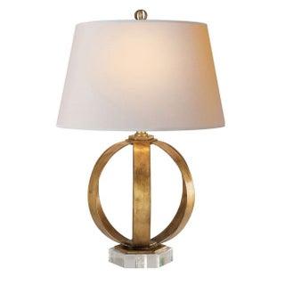 Brand New Gilded Gold Lamp