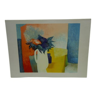 Limited Edition Signed Print Spring Claude Gaveau