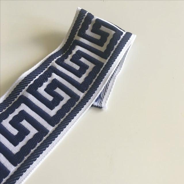 Blue & White Greek Key Trim Banding - Image 5 of 8