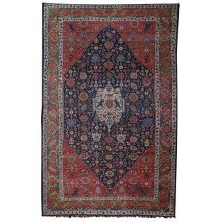 Large Antique Bidjar Carpet