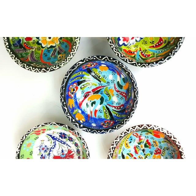 Turkish Tile Bowls - Set of 5 - Image 3 of 5