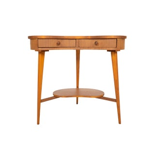 Danish Modern Teak Biomorphic Side Table