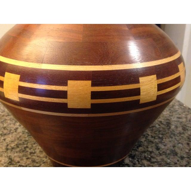 Image of Segmented Wood Vase