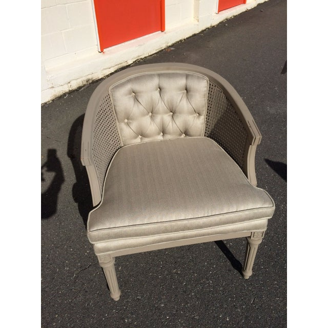 French Provincial Accent Chair - Image 6 of 6