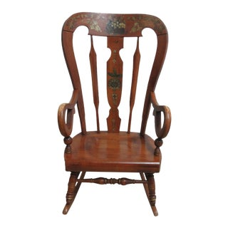 Ethan Allen Balloon Back Homestead Rocking Chair
