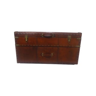 Leather Storage Coffee Table Box