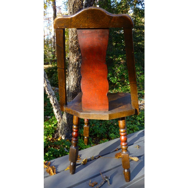 Image of Hand Painted Mason Monterey A-Frame Chair