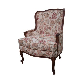 Ethan Allen French Louis XV Style Bergere Chair