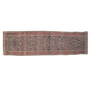 Leon Banilivi Antique Persian Bijar - 17' X 3'5""