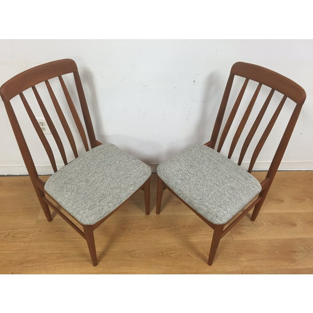 Image of Mid Century Teak Desk or Side Chairs - a Pair