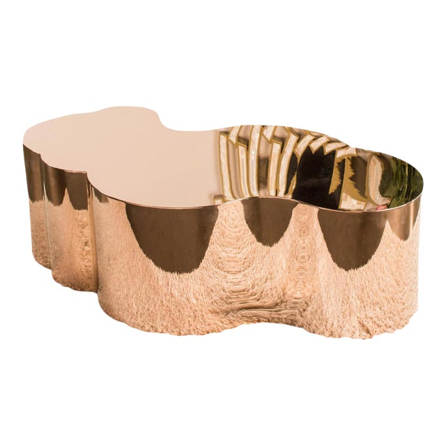 Luca Rose Gold Coffee Table - Image 1 of 5