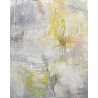 """""""Waterfront"""" Large Abstract Oil Painting by Trixie Pitts"""