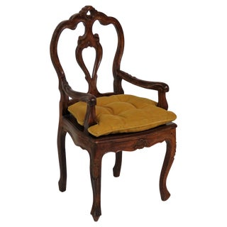Louis XVI Style Carved Child's Chair
