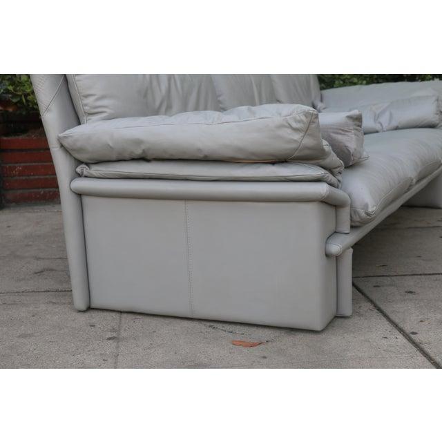 Nicoletti Italian Leather Sofa - Image 8 of 11